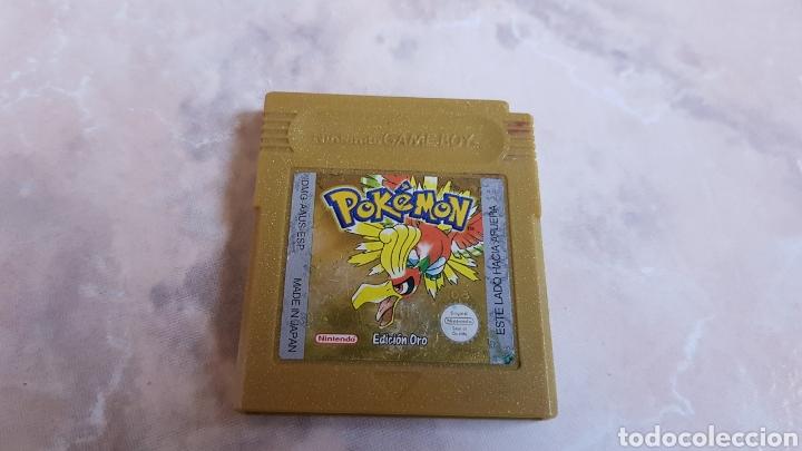 JUEGO ORIGINAL NINTENDO GAMEBOY POKEMON DORADO (Juguetes - Videojuegos y Consolas - Nintendo - GameBoy)