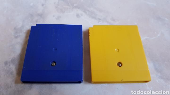 Videojuegos y Consolas: Lote 2 juegos Nintendo Gameboy Pokemon Azul y Amarillo - Foto 2 - 142727966