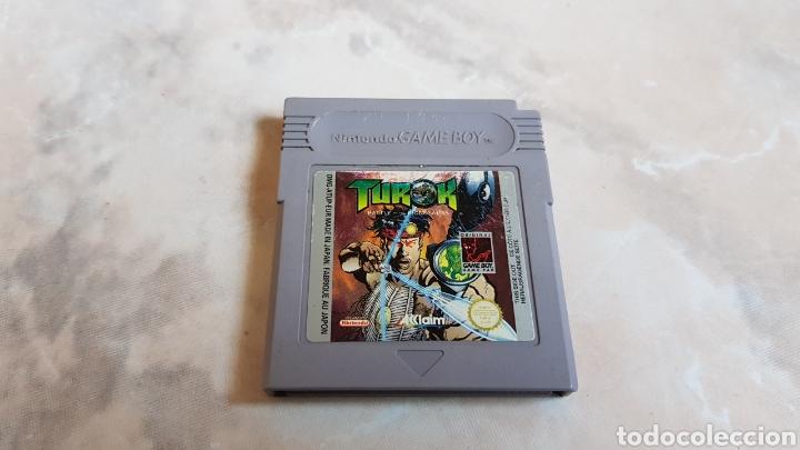 JUEGO NINTENDO GAMEBOY TUROK (Juguetes - Videojuegos y Consolas - Nintendo - GameBoy)