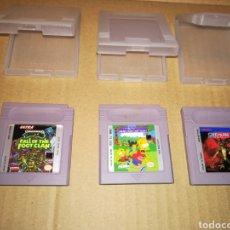 Videojuegos y Consolas: LOTE DE 3 JUEGOS GAME BOY MUY DIFÍCILES DE ENCONTRAR. Lote 143351678