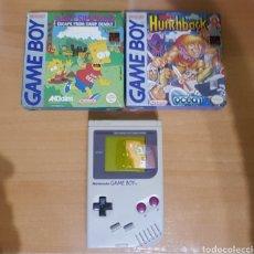 Videojuegos y Consolas: NINTENDO GAMEBOY CON JUEGOS GAME BOY. Lote 143419130