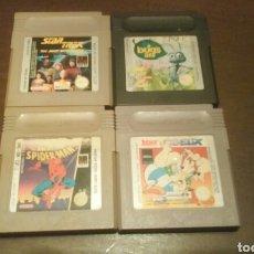 Videojuegos y Consolas: LOTE JUEGOS GAME BOY. Lote 143627556