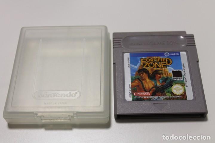 JUEGO GAME BOY NINTENDO FORTIFIED ZONE (Juguetes - Videojuegos y Consolas - Nintendo - GameBoy)
