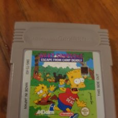 Videojuegos y Consolas: JUEGO GAME BOY BART SIMPSONS. ESCAPE FROM. Lote 147405850