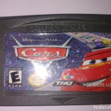 Videojuegos y Consolas: CARS GAME BOY ADVANCE. Lote 149503274