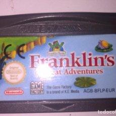 Videojuegos y Consolas: FRANKLINS GREAT ADVENTURE GAME BOY ADVANCE. Lote 149504826