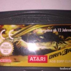 Videojuegos y Consolas: DRIV 3R GAME BOY ADVANCE. Lote 149506238