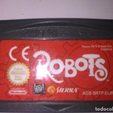 Videojuegos y Consolas: ROBOTS GAME BOY ADVANCE. Lote 149507134