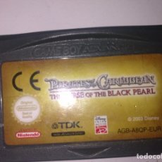 Videojuegos y Consolas: PIRATES OF THE CARIBBEAN GAME BOY ADVANCE. Lote 188752558