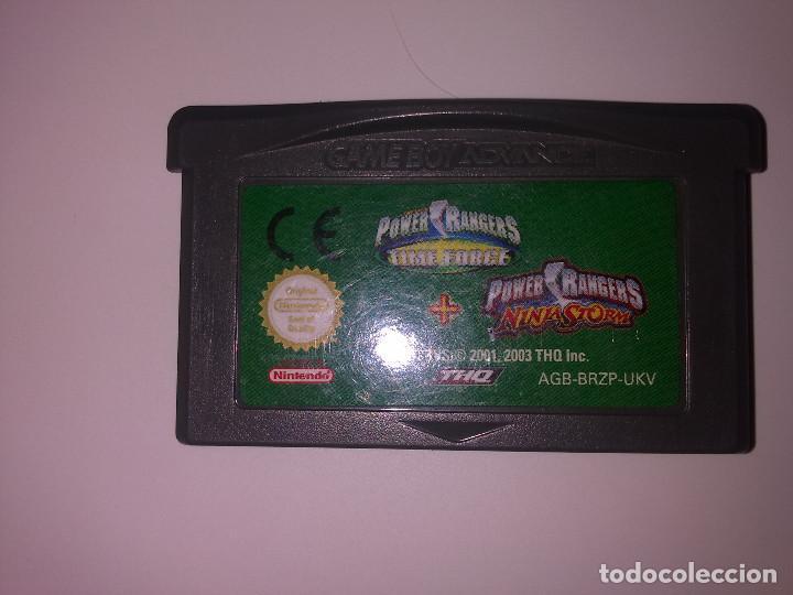 POWER RANGERS GAME BOY ADVANCE (Juguetes - Videojuegos y Consolas - Nintendo - GameBoy)