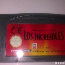 Videojuegos y Consolas: LOS INCREIBLES GAME BOY ADVANCE. Lote 149513554