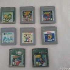 Videojuegos y Consolas: LOTE DE 8 JUEGOS DE GAME BOY. Lote 149685030