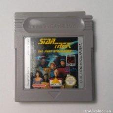 Videojuegos y Consolas: STAR TREK THE NEXT GENERATION - NINTENDO GAME BOY. Lote 150432654