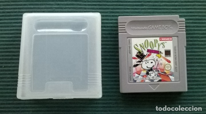SNOOPY'S MAGIC SHOW - NINTENDO GAME BOY GB GAMEBOY - FUNDA + CARTUCHO (Juguetes - Videojuegos y Consolas - Nintendo - GameBoy)