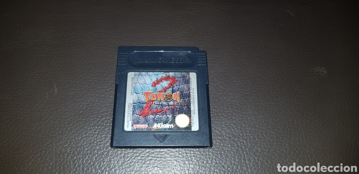 JUEGO TUROK 2 SEEDS OF EVIL NINTENDO GAMEBOY (Juguetes - Videojuegos y Consolas - Nintendo - GameBoy)