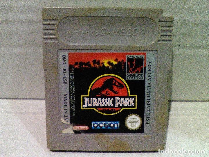 JURASSIC PARK GAME BOY NINTENDO (Juguetes - Videojuegos y Consolas - Nintendo - GameBoy)