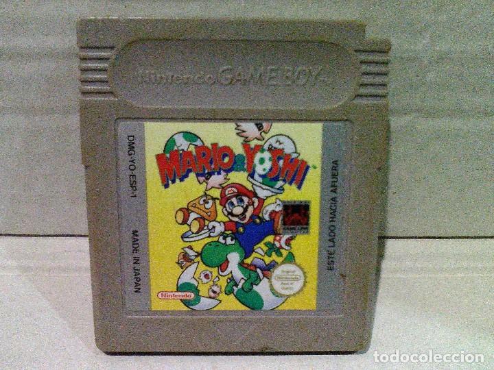 MARIO & YOSHI GAME BOY NINTENDO (Juguetes - Videojuegos y Consolas - Nintendo - GameBoy)
