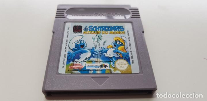 J- LOS SCHTROUMPFS NINTENDO GAME BOY VERSION EUROPEA RARO Y DIFICIL MUY BUEN ESTADO (Juguetes - Videojuegos y Consolas - Nintendo - GameBoy)