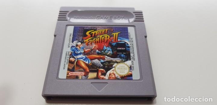 J- STREET FIGHTER 2 NINTENDO GAME BOY VERSION EUROPEA MUY BUEN ESTADO (Juguetes - Videojuegos y Consolas - Nintendo - GameBoy)