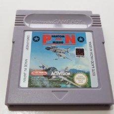 Videojuegos y Consolas: J- PHANTOM AIR MISSION NINTENDO GAME BOY VERSION ESPAÑOLA MUY BUEN ESTADO DIFICIL!!. Lote 151603642