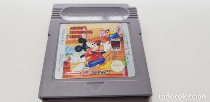 J- MICKEYS DANGEROUS CHASF VERSION EUROPEA MUY BUEN ESTADO (Juguetes - Videojuegos y Consolas - Nintendo - GameBoy)