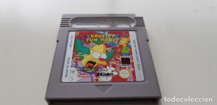 J-KRUSTYS FUN HOUSE NINTENDO GAME BOY VERSION ESPAÑOLA MUY BUEN ESTADO MUY DIFICIL CONSEGUIR (Juguetes - Videojuegos y Consolas - Nintendo - GameBoy)