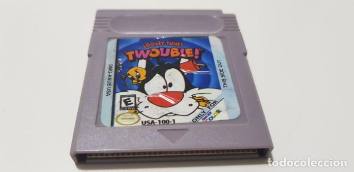 J- TWOUBLE NINTENDO GAME BOY VERSION USA DMG-AAUE-USA CLON? (Juguetes - Videojuegos y Consolas - Nintendo - GameBoy)