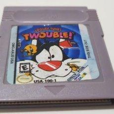 Videojuegos y Consolas: J- TWOUBLE NINTENDO GAME BOY VERSION USA DMG-AAUE-USA CLON?. Lote 151609570