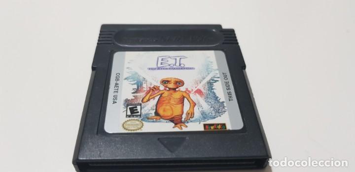 J- ET NINTENDO GAME BOY VERSION AMERICANA CGB-AETE-USA MUY BUEN ESTADO ORIGINAL RARO (Juguetes - Videojuegos y Consolas - Nintendo - GameBoy)