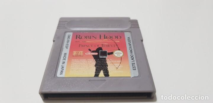 J- ROBIN HOOD PRINCE OF THE THIEVES NINTENDO GAME BOY VERSION ESPAÑOLA DIFICIL!! (Juguetes - Videojuegos y Consolas - Nintendo - GameBoy)