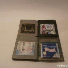 Videojuegos y Consolas: LOTE DE JUEGOS GAME BOY. Lote 151612270