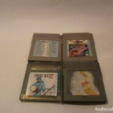 Videojuegos y Consolas: LOTE DE JUEGOS DE GAME BOY. Lote 151613162