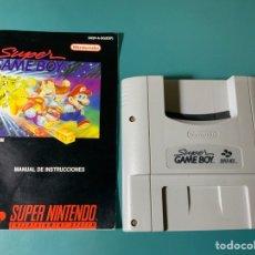 Videojuegos y Consolas: SUPER GAME BOY CON INSTRUCCIONES. Lote 151639766