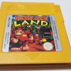 Videojuegos y Consolas: J-DONKEY KONG LAND NINTENDO GAME BOY VERSION EUROPEA MUY BUEN ESTADO. Lote 151652798