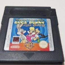 Videojuegos y Consolas: J- BUGS BUNNY LOLA BUNNY NINTENDO GAME BOY VERSION EUROPEA . Lote 151653370