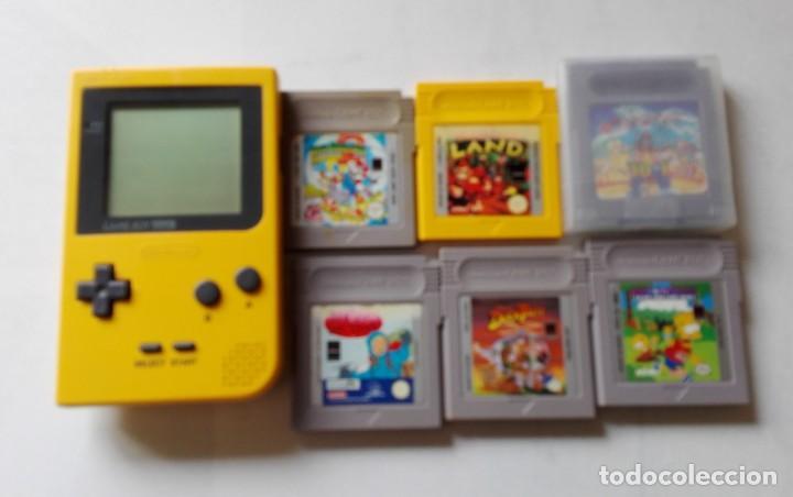 GAMEBOY NINTENDO POCKET CON JUEGOS. (Juguetes - Videojuegos y Consolas - Nintendo - GameBoy)