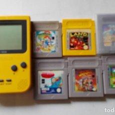 Videojuegos y Consolas: GAMEBOY NINTENDO POCKET CON JUEGOS.. Lote 151872230