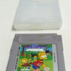 Videojuegos y Consolas: NINTENDO GAME BOY BART SIMPSON, JUEGO. Lote 151903112
