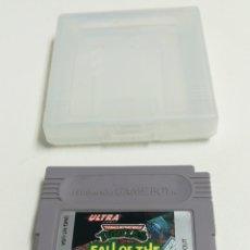 Videojuegos y Consolas: NINTENDO GAME BOY TURTLES FALL THE FOOT CLAN. Lote 151903437