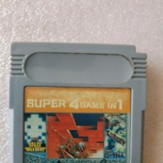Videojuegos y Consolas: SUPER 4 GAME IN 1 GAMEBOY GAME BOY. Lote 152634130