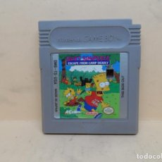 Videojuegos y Consolas: GAMEBOY BART SIMPSON'S ESCAPE FROM CAMP DEADLY NTSC / PAL. Lote 154093130
