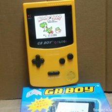 Videojuegos y Consolas: CONSOLA CON 166 JUEGOS GAME BOY INTEGRADOS MÁS (CARGADOR Y 4 PILAS RECARGABLES ). Lote 154571886
