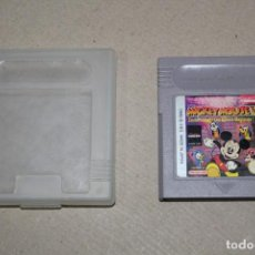 Videojuegos y Consolas: NINTENDO GAME BOY: MICKEY MOUSE V - CARTUCHO CON FUNDA. Lote 155146982