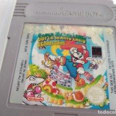 Videojuegos y Consolas: ANTIGUO JUEGO PARA NINTENDO GAME BOY SUPER MARIO LAND . Lote 155619502