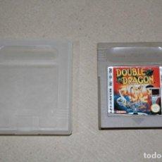 Videojuegos y Consolas: NINTENDO GAME BOY: DOUBLE DRAGON - CARTUCHO CON FUNDA. Lote 155951858