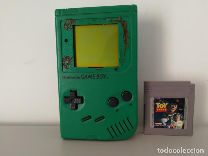 CONSOLA GAME BOY CLASICA VERDE (Juguetes - Videojuegos y Consolas - Nintendo - GameBoy)