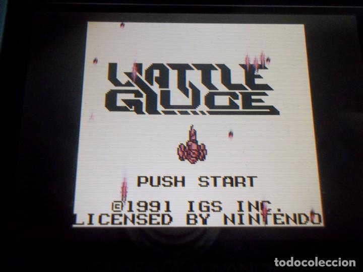 Videojuegos y Consolas: GAMEBOY VATTLE GIUCE SHOOTER UP GAME BOY MUY RARO - Foto 4 - 158735454