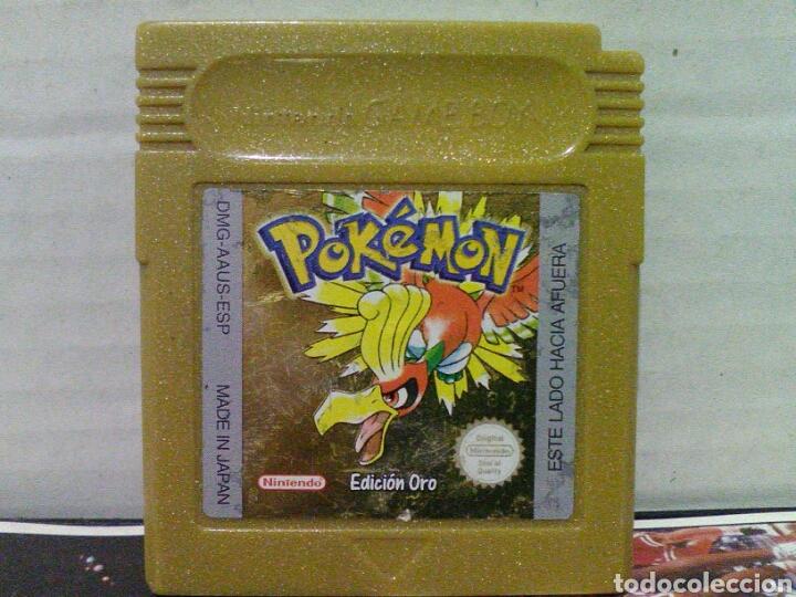 POKEMON EDICION ORO GAME BOY NINTENDO (Juguetes - Videojuegos y Consolas - Nintendo - GameBoy)