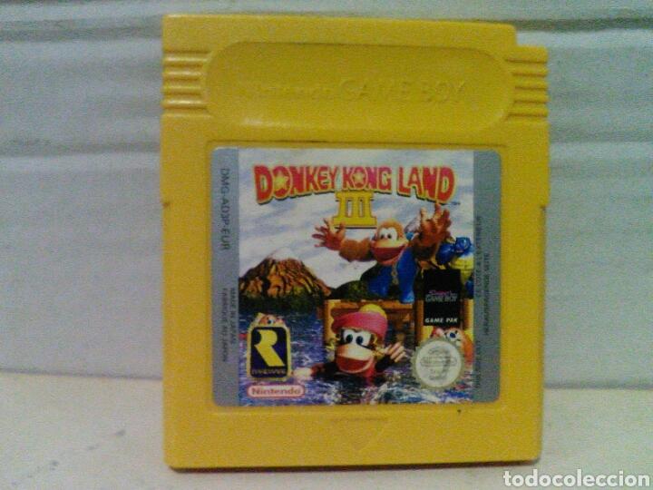 DONKEY KONG LAND 3 GAME BOY NINTENDO (Juguetes - Videojuegos y Consolas - Nintendo - GameBoy)