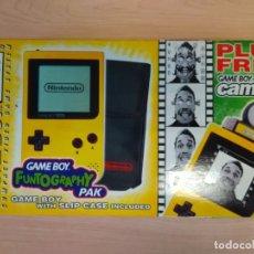 Videojuegos y Consolas: NINTENDO GAMEBOY POCKET FUNTOGRAPHY.. Lote 161250318